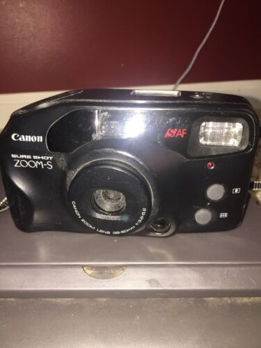 Canon Sure Shot Zoom-S 38-60mm Point and Shoot Film Camera Estate Find