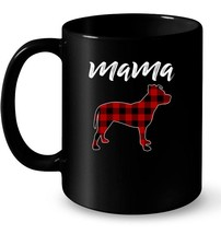Womens Plaid For Mama American Pit Bull Terrier Dog Lovers Gift Coffee Mug - $13.99+