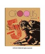 ALGERNON PRODUKT Persona 5 Protagonist Design Croquis Buch Japan Book - $56.16