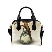 Totoro Anime PU Leather Shoulder Handbag Bag - $34.00