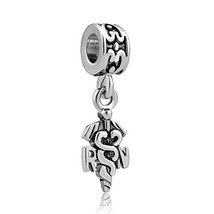 LovelyCharms Rn Nurse Bead Jewelry Sale Fits Pandora Charm Bracelets - $11.06