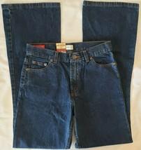 Arizona Jean Co. Denim Jeans Girls Boys Size 16 Slim Barely Flare Cotton New Tag - $23.79