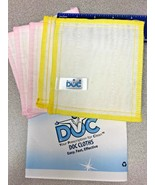 """Lot of 6 DOC Cloth Anti Bacterial Fiber Reusable Cleaning Cloths 6""""x6"""" o... - $21.73+"""