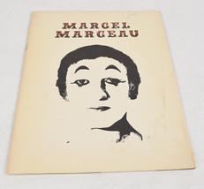 Marcel Marceau Tour Book Program Guide 1976 Mime Signed - $74.25