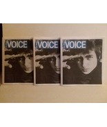 VILLAGE VOICE - LAST ISSUE EVER - BOB DYLAN COVER - 3 COPIES - FREE SHIP... - $23.38