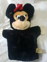 Plush MINNIE MOUSE PUPPET Doll Disney TOY CUTE Applause - $1.99