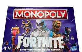 Monopoly Fortnite Edition Board Game Hasbro Gaming Ages 13+ NEW - $27.58