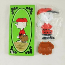 Vintage Avon Childrens Youth Charlie Brown Peanuts Soap Dish 1974  - $14.01