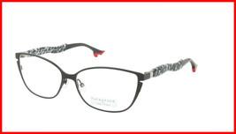 Face A Face Eyeglasses Frame BOCCA BELLE 1 Col. 915 Acetate Satin Black Mosaic  - $316.62