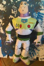 "Buzz Lightyear Toy Story Disney Store Plush Stuffed Kids 18"" In - $19.00"