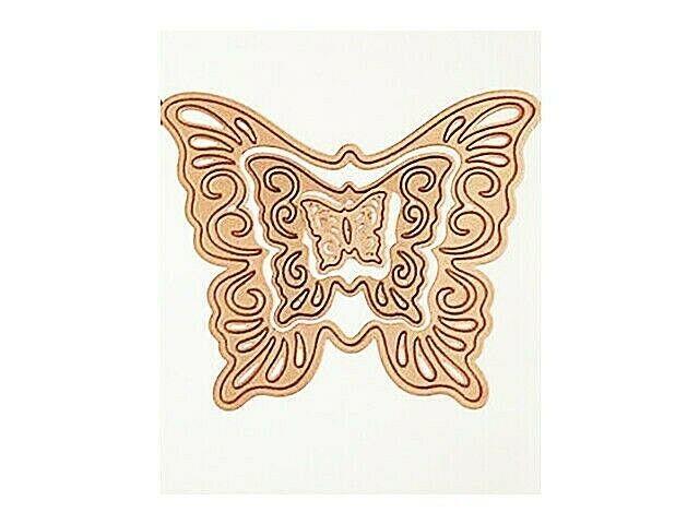 Spellbinders Shapeabilities Nested Butterflies Two #S4-320
