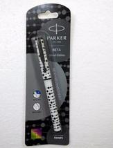 Parker Beta Special Edition BallPoint Pen Ballpen Regimental 02 Black Body -New - $6.99