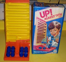"""RARE! ORIGINAL VINTAGE 1977 """"UP! AGAINST TIME"""" ANTIQUE GAME-COLLECTIBLE TOY image 2"""