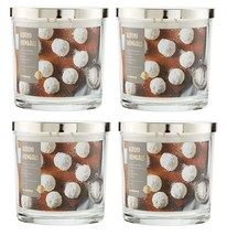 Sonoma Almond Snowballs Scented Candle 14 oz- Almond Peppermint Cookies Lot of 4 - $97.50