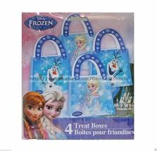DISNEY FROZEN 4 pc Set TREAT BOXES Party Supplies/Decoration GIFT GRAB/B... - $3.25