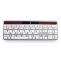 Logitech 920-003677 K750 Wireless Solar Keyboard for Mac - 2.4 GHz - White - $101.60