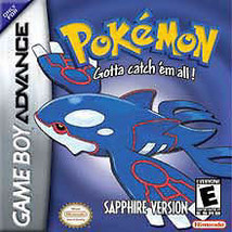 Pokemon: Sapphire Version (Nintendo Game Boy Advance, 2003)  Game Only! - $14.35