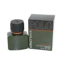 RALPH LAUREN POLO EXPLORER EAU DE TOILETTE NATURAL SPRAY 40 ML/1.36 FL.OZ.  - $68.81