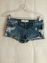 Abercrombie and Fitch Blue Jean Shorts size 0              120 - $19.75