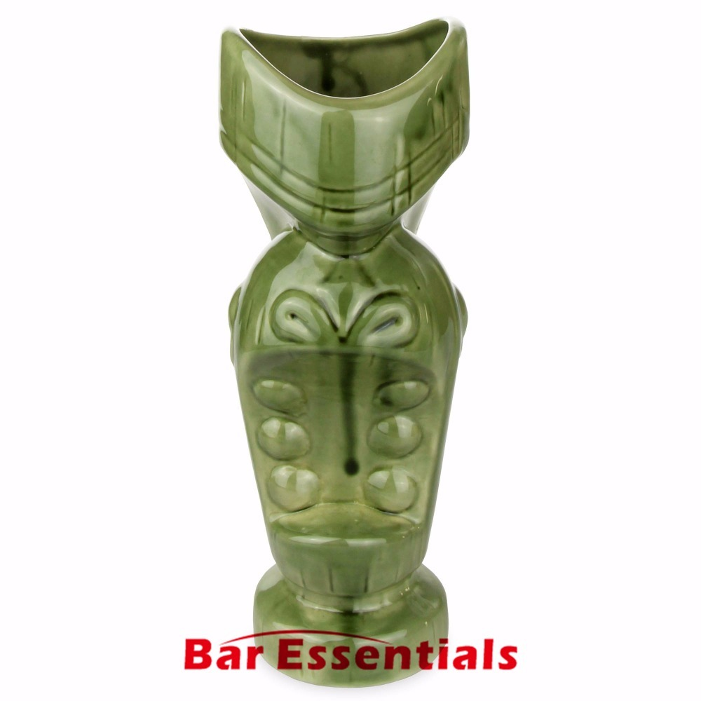 BHomify Ceramic Large Mouth Tiki Mug 650ml