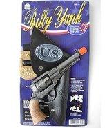 Metal Replica Revolver Pistol Toy Cap Gun Billy Yank Union Officer Civil... - $29.39