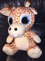Large Peek A Boo Toys Yellow Giraffe BIG EYES Plush Stuffed Animal Plush... - $39.99