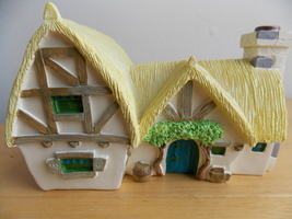 Disney Snow White's Dwarves Mini Garden House  - $25.00