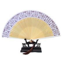Folding Fan Artware Blue and White Porcelain    QHC-03(coffee surface) - $10.44