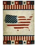 """Nicole United States Patriotic House Flag-2 Sided Message, 28"""" x 40"""" - $24.70"""