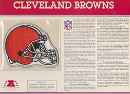 Cleveland Browns Official Team Patch by Willabee & Ward - $17.33