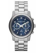 Michael Kors MK5814 Runway Stop the Hunger Limited Edition Silver Watch - £53.66 GBP