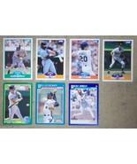 Score Baseball Cards Lot of 7 Murray Gant Kunkel Lyons Seitzer Gullickso... - $9.59