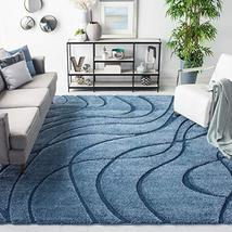 SAFAVIEH Shag SG471 Abstract Wave Non-Shedding Living Room Area Rug - $326.00