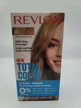 Revlon Total Color Permanent Hair Dye #81 Medium Ash Blonde Covers Grays... - $8.07