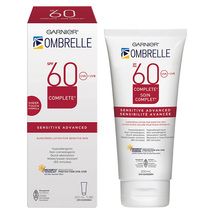 Garnier Ombrelle Complete 60 SPF Sensitive Skin Sunscreen Lotion 2 x 200ml  - $79.99