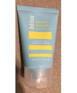 bliss Vegan Lemon & Sage Maxmum Moisture Cream Body Butter 50 ml. - $12.95