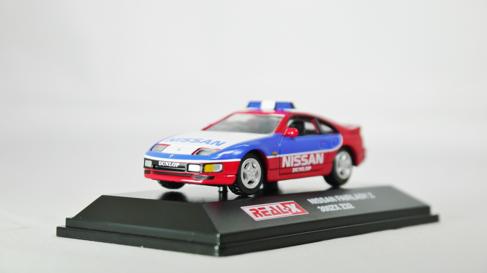 Real x 1 72 nissan racing car fairlady z 300zx z32 safety car ble   red 02