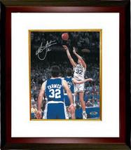 Christian Laettner signed Duke Blue Devils Vertical 8x10 Photo Custom Fr... - $102.95
