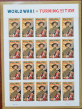 World War I 'Turning The Tide' - (USPS)  FOREVER STAMPS 20 stamps - $12.95