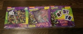 Teenege Mutant Ninja Turtles Games Bundle Pack New Sealed  - $22.76