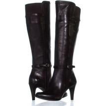 Circa Joan & David Hadlie Knee High Boots 011, Dark Brown, 5.5 US - $55.67