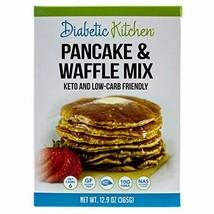 Diabetic Kitchen Pancake & Waffle Mix, Keto Friendly, Low Carb, Gluten-Free, 10g