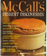 McCall's Dessert Discoveries 1978 Vintage Cookbook M7 Selma Brown - $5.93