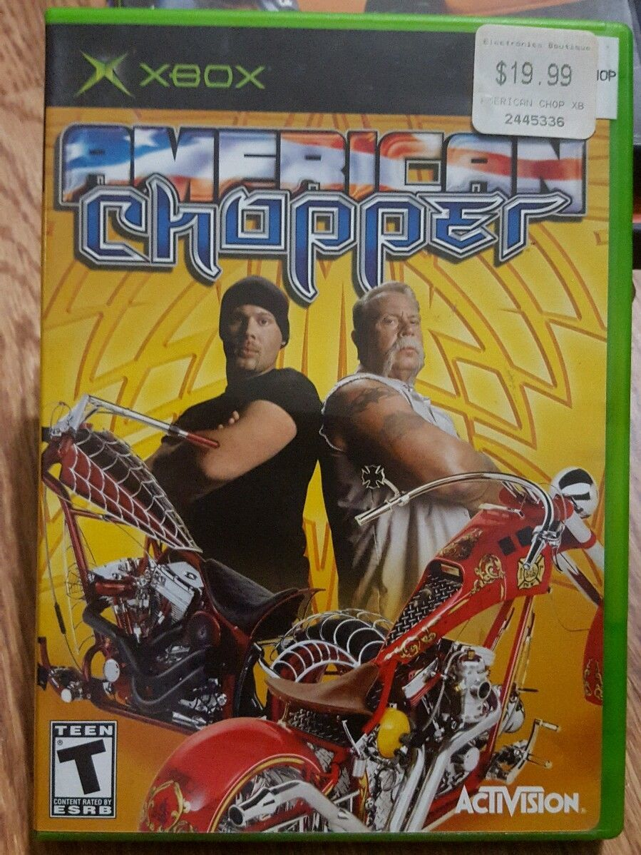 Primary image for American Chopper (Microsoft Xbox, 2004) complete w/ case and manual