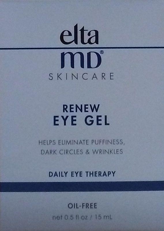EltaMD  ELTA MD Renew Eye Gel Daily Eye Therapy - 0.5  Oz / 15 mL - New - $34.99