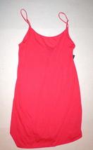 NWT New Designer Natori Medium M Chemise Rayon Nightie Short Gown Red Wa... - $71.50