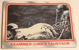 Empire Strikes Back Trading Card #21 Examined Luke's Tauntaun - $1.97