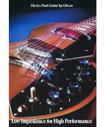 ORIGINAL Vintage 1973 Les Paul Guitar by Gibson Catalog - $59.39