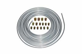 A-Team Performance 3/16'' Double Walled Galvanized Steel Tube Roll Brake Line Ki