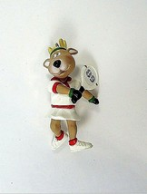 Hallmark Keepsake Ornament Reindeer Champs Tennis Playing Vixen 89 - $9.90